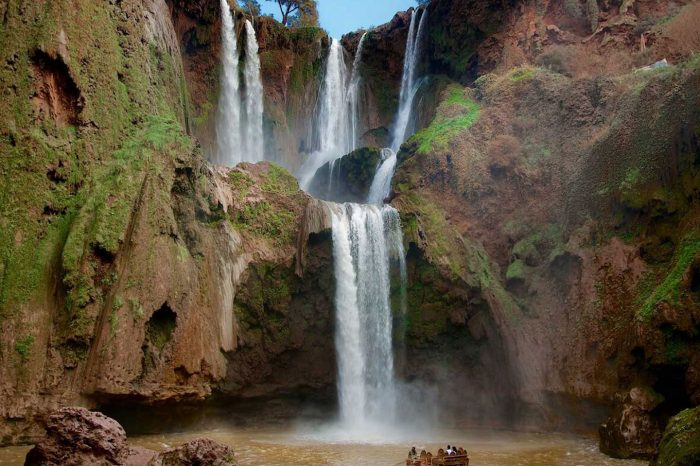 Waterfalls & High Atlas Mountains